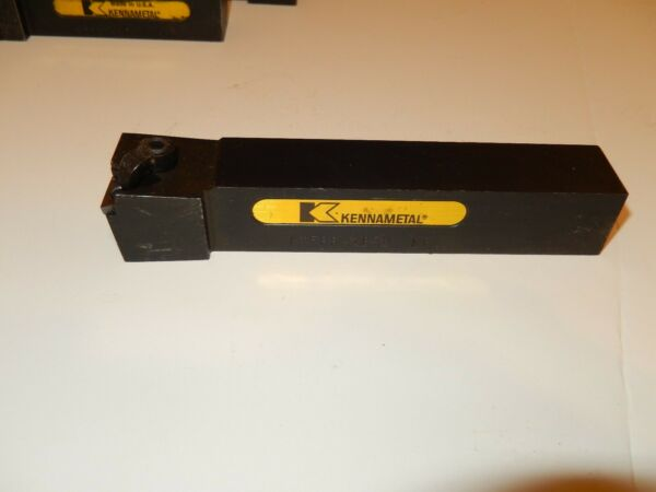 KENNAMETAL CTFPR-163D NF8 Carbide Inserts Lathe Tool Holder New USA