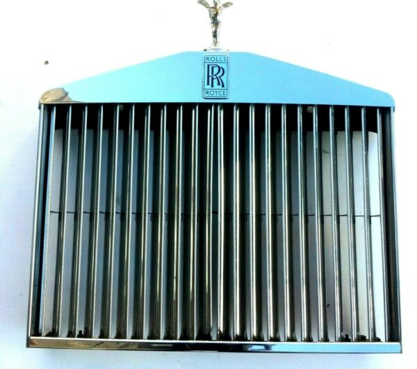 65 80 ROLLS ROYCE CORNICHE SHADOW FRONT STAINLESS GRILLVANES AND LADY UB31244