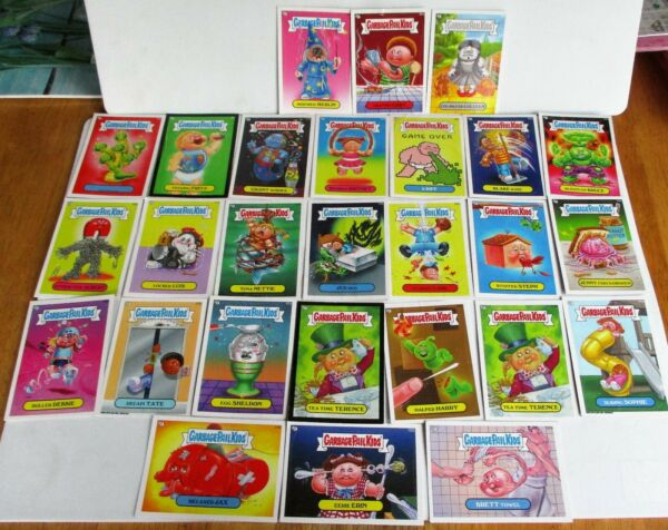 2013 TOPPS LOT OF 27 GARBAGE PATCH KIDS STICKERTRADING CARDS. PREOWNED..