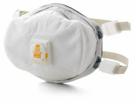 3M 8233 N100 Particulate Respirator 1 Individual Sealed Mask Exp. Date 07 2025