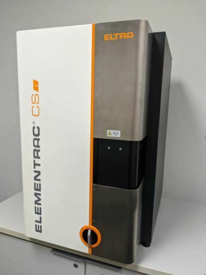 Eltra CSi Carbon and Sulfur Combustion Analyzer 1ppm to 9% flexible matrix $29990.00