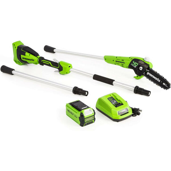 Greenworks 1403702 40V 8 Foot GEN II Polesaw w 2.0ah battery and charger