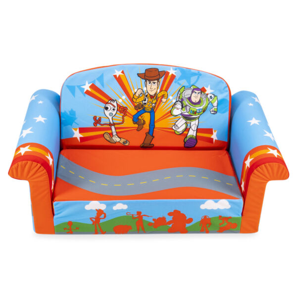 Marshmallow Furniture 2 in 1 Flip Open Couch Bed Toddler Furniture Toy Story $42.99