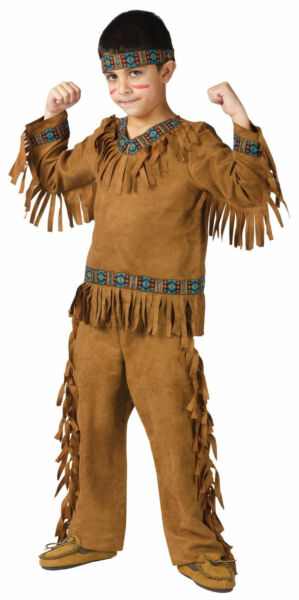 Native American Indian Warrior Child Costume sizes sml fw131022