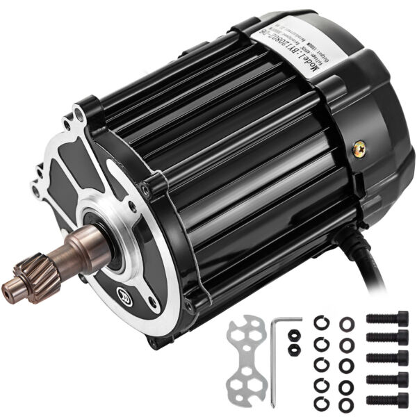 48V 60V DC Motor Differential Speed Electric Tricycle Motor 1500W Electric Motor $81.99