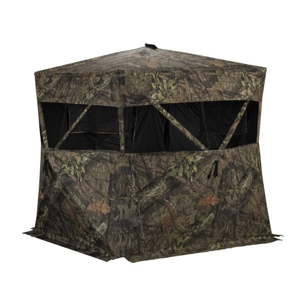 Rhino Blinds R150 MOC Durable 3 Person Outside Hunting Ground Blind Mossy Oak $98.99