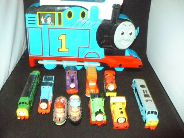 Ertl Thomas the Tank Engine toy carrier with toys $25.99