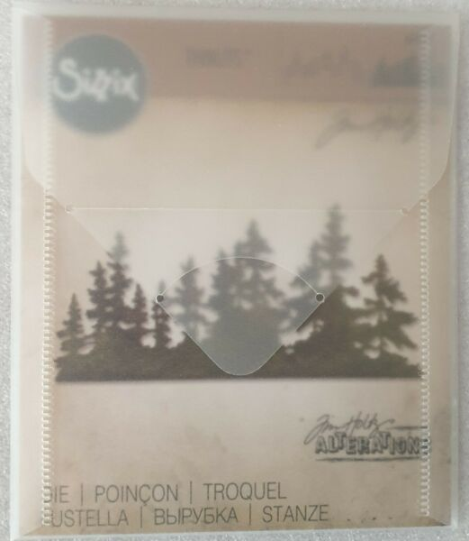 Sizzix - Tim Holtz - Alterations Collection Thinlits Die - Tree Line - 661604