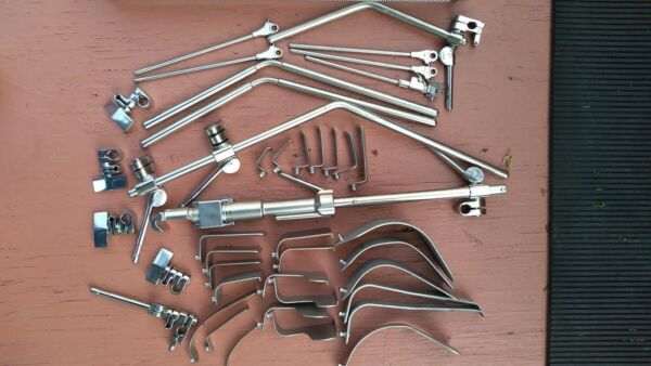 Thompson Farley Cervical PLIF & ALIF Radiolucent Retractor Neuro Spine Surgery