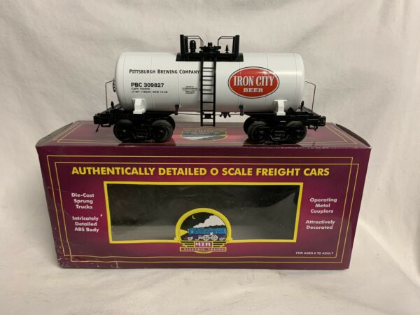 ✅MTH PREMIER IRON CITY BEER MODERN TANK CAR 20-96178 PITTSBURGH BREWING BREWERY