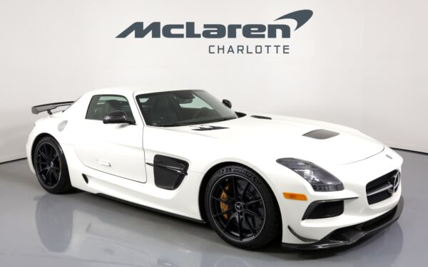 2014 Mercedes-Benz SLS AMG GT BLACK SERIES 2014 Mercedes-Benz SLS AMG designo Mystic White 2 with 1975 Miles available now