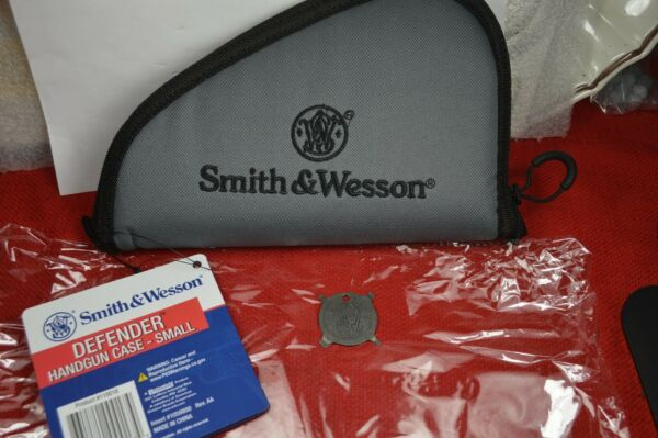 S&W OEM GREY SOFT PADDED RANGE RUG CASE 13