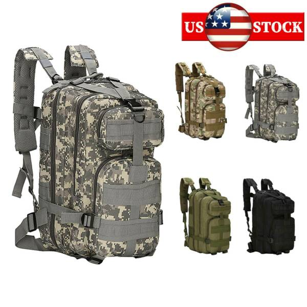 CS Game Tactical Hydration Assault Backpack Military Camping Camouflage Bag