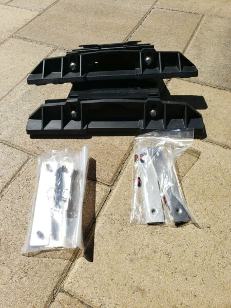 WHELEN LIGHTBAR MOUNTING KIT Feet Liberty adjustable extended NEW FREE SHIPPING