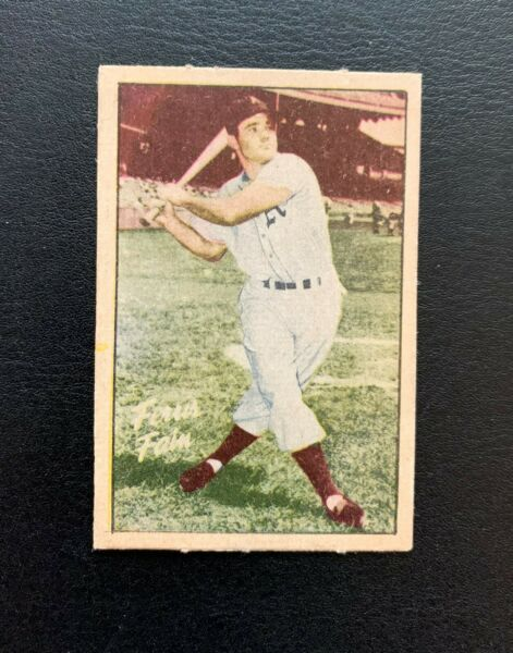 1952 Berk Ross Baseball Ferris Fain Philadelphia Athletic; EX Parade of Champion