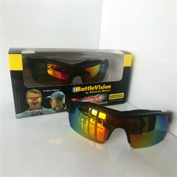 1PC BattleVision HD Polarized Sunglasses Clear Vision As Seen on TV Unisex