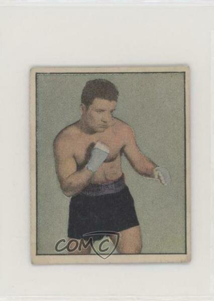 1951 Berk Ross Hit Parade of Champions Jake LaMotta #3-12