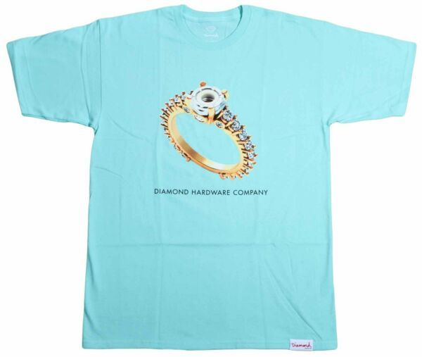Diamond Supply Co Diamond Hardware Ring T-Shirt Mens Skateboard Tee New