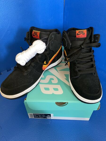Nike Sb Dunk High Truck It. Size 11. DS. OG ALL. With Receipt.