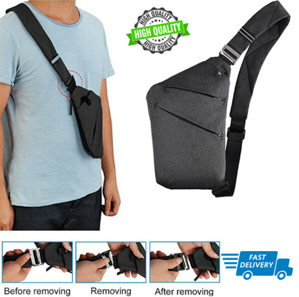 OSOCE Sling Chest Bag Cross Body Shoulder Backpack Anti Theft Travel Bags for $23.15