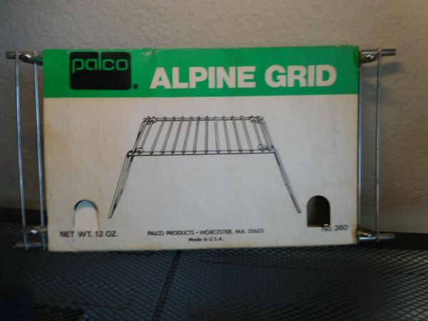 VINTAGE Palco Heavy Duty Steel Camping Grill 12quot;x6quot;x1quot; Camp Fire Cooking Grid
