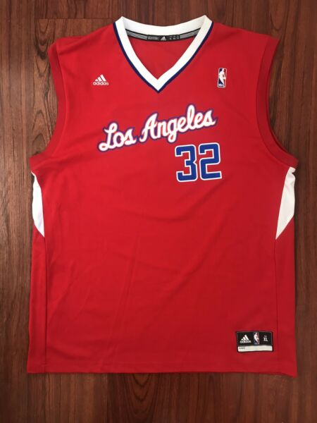 Adidas Los Angeles LA Clippers NBA Player Blake Griffin #32 Jersey XLarge
