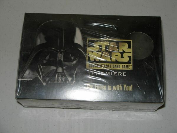 Sealed Star Wars CCG Premier Limited Booster Box Black Border BB SWCCG Decipher