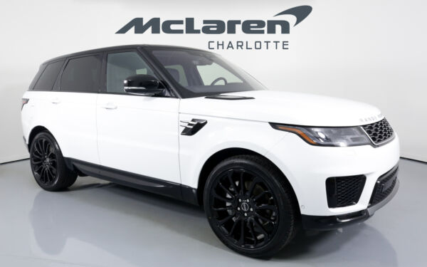 2019 Land Rover Range Rover Sport HSE 2019 Land Rover Range Rover Sport Fuji White with 20368 Miles available now!