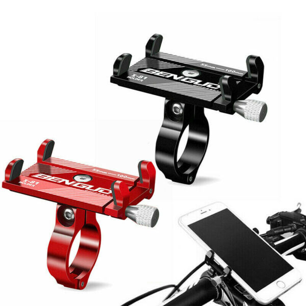 Aluminum Aolly Motorcycle Bike Holder Bicycle Mount Handlebar For Phone Stand US $9.11