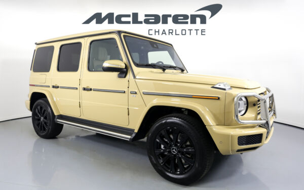 2020 Mercedes-Benz G-Class G 550 2020 Mercedes-Benz G-Class G manufaktur Desert Sand with 320 Miles available no
