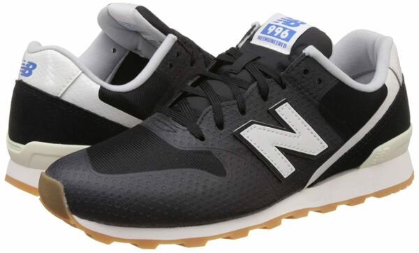 New Balance 996 Women's Leather Perf Fashion Sneakers Shoes WIDE