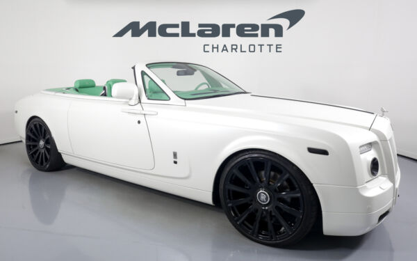 2010 Rolls-Royce Phantom  2010 Rolls-Royce Phantom Drophead Coupe White with 21610 Miles available now!