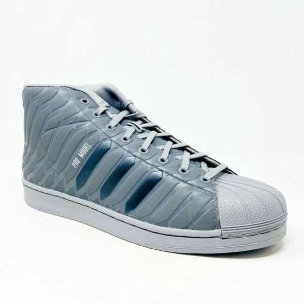 Adidas Originals Pro Model Xeno Reflective Gray Q16535 Mens Size 13