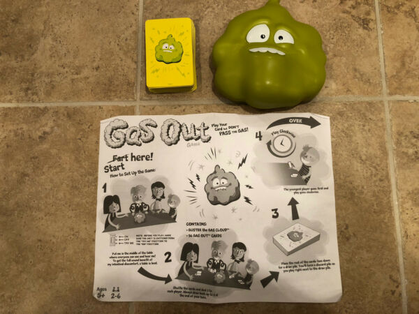 MATTEL GAS OUT Game Used $2.99