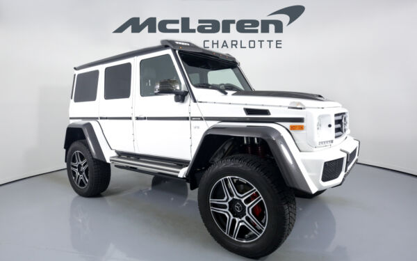 2018 Mercedes-Benz G-Class G 550 4x4 Squared 2018 Mercedes-Benz G-Class White with 6804 Miles available now!
