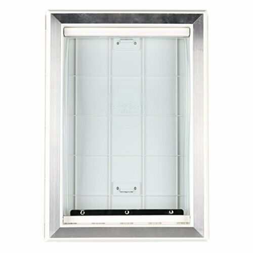 Extreme Weather Pet Door Dog Doors Exterior Entry Large Dogs Heavy Duty Large $37.57