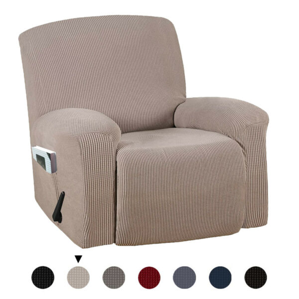 Thick Stretch Recliner Chair Cover Sofa Slipcover Protector Washable Anti Slip $27.73