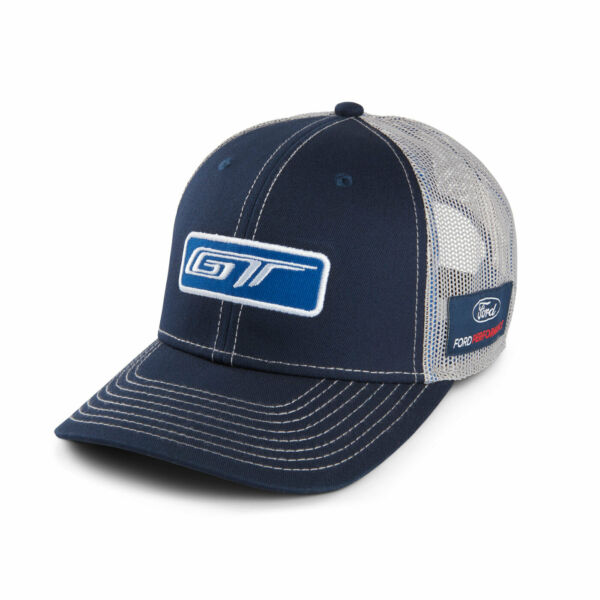 Ford GT Blue and Gray Mesh Hat $16.99