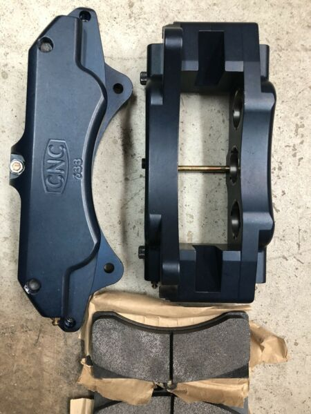 6 Piston CNC 633 Brake Calipers Incl Pads Dune Buggy Brakes. Off Road Racing VW