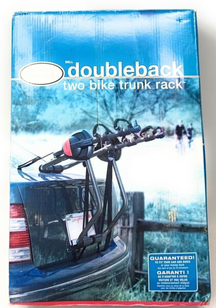 Bell Double Back Two Bike Trunk Rack Excellent $44.99