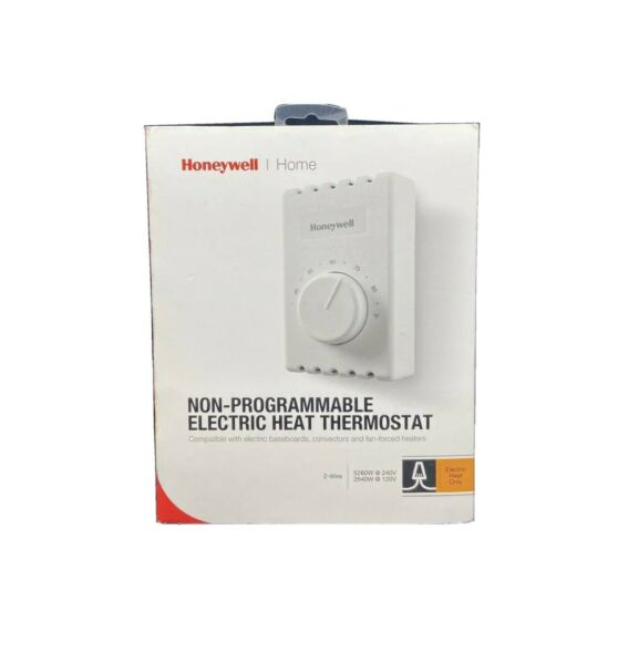 Honeywell Non Programmable Electric Heat Thermostat CT410A White 2 wire $17.45