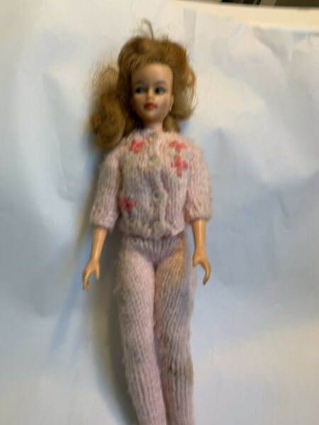 Vintage Ideal M-12 1965 Doll In knit suit  #4A