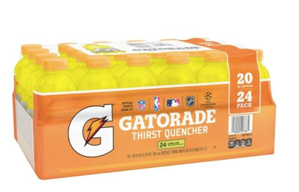 Gatorade pallet most flavors 20oz x 24pk x 54cases Free Delivery South Florida $999.00