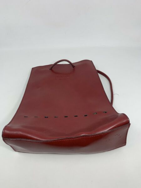 Womens Mondani Backpack Small Red Leather $19.99