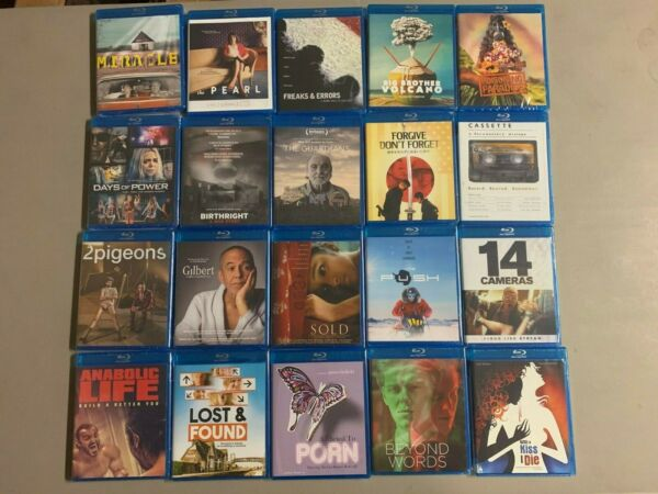 Blu-ray Lot Miracle Pearl Freaks & Errors Cassette 2 Pigeons Gilbert Lost Found