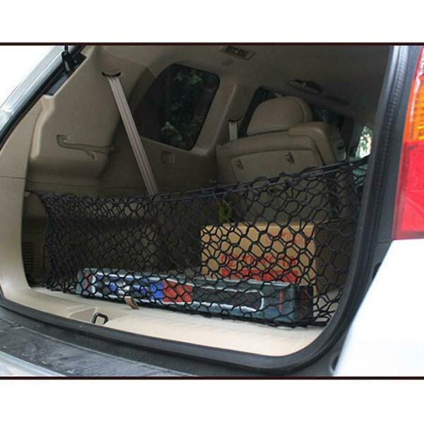 Accessories Car Trunk Cargo Net Holder Elastic Mesh Organizer SUV Universal $13.10