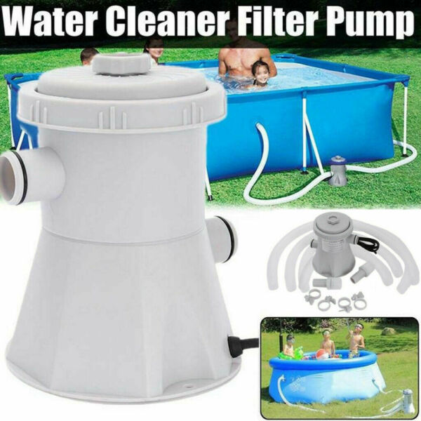 Electric Filter Pump Swimming Pool for Above Ground Pools Water Circulating Tool $48.99