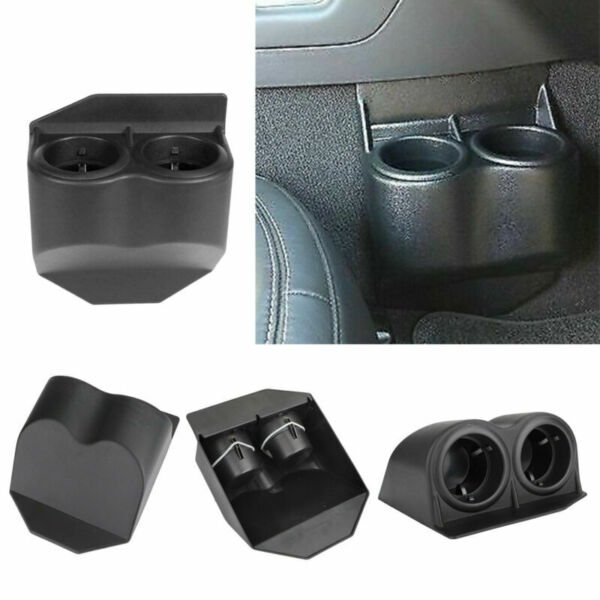Black Travel Water Auto Dual Cup Holders For Corvette C5 C6 GMC 1997 2013 USA $32.99