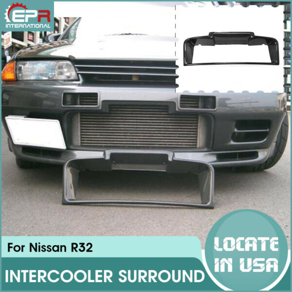 OE Carbon For Nissan skyline R32 GTR Front Bumper Intercooler Surround Duct Kit $193.00