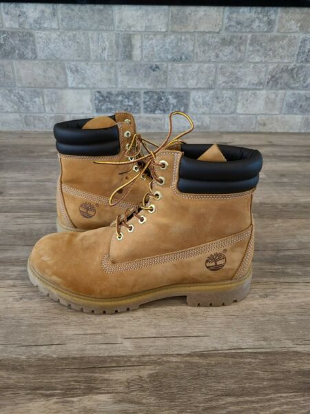 Mens Timberland Work Boots 9 Wheat $70.00